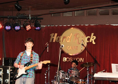 at Hard Rock Cafe